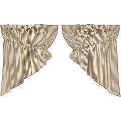 Sawyer-Mill-Charcoal-Ticking-Stripe-Prairie-Swag-Set-of-2-36x36x18-image-2