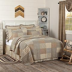 Sawyer Mill Charcoal Twin Quilt 68Wx86L