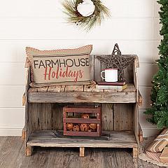 Sawyer Mill Farmhouse Holidays Pillow 14x22