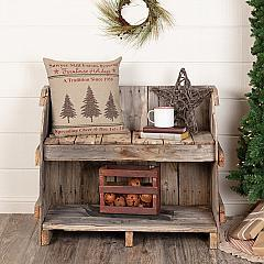 Sawyer Mill Holiday Tree Pillow 18x18