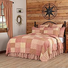 Sawyer Mill Red King Quilt 105Wx95L