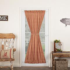 Sawyer Mill Red Plaid Door Panel 72x40