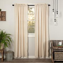 Simple Life Flax Natural Panel Set of 2 84x40