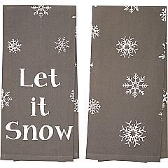 Snowflake-Burlap-Grey-Let-It-Snow-Tea-Towel-Set-of-2-19x28-image-2