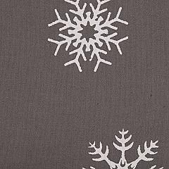 Snowflake-Burlap-Grey-Let-It-Snow-Tea-Towel-Set-of-2-19x28-image-3