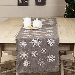 Snowflake-Burlap-Grey-Runner-13x90-image-1