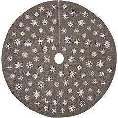 Snowflake-Burlap-Grey-Tree-Skirt-55-image-2