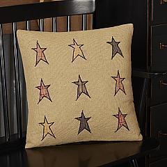 Stratton Applique Star Pillow 16x16