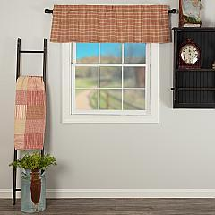 Sawyer Mill Red Plaid Valance 16x60