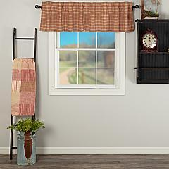 Sawyer Mill Red Plaid Valance 16x72
