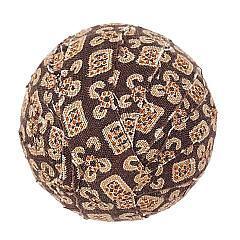 "Tacoma Fabric Ball #10-1.5"" Set of 6"