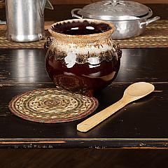 Tea Cabin Jute Trivet 8