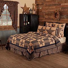 Teton Star King Quilt 105Wx95L