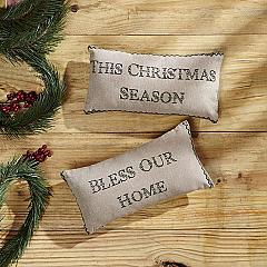Timberland Christmas Pillow Set of 2 7x13