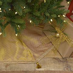 Tinsel Tree Skirt 48