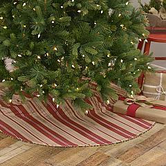Vintage Stripe Tree Skirt 48
