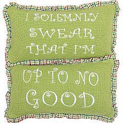 Whimsical-Christmas-Pillows-Up-To-No-Good-Set-of-2-7x13-image-2