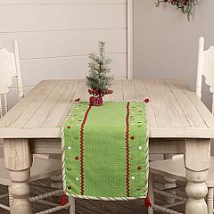 Whimsical Christmas Runner 13x36