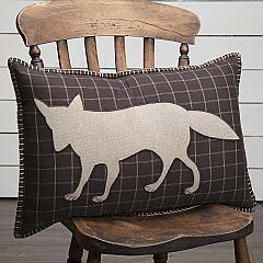 Wyatt Fox Applique Pillow 14x22