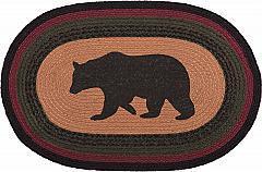 Wyatt-Stenciled-Bear-Jute-Rug-Oval-20x30-image-2