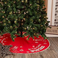 Winter Wonderment Tree Skirt 48