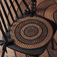 Farmhouse Jute Chair Pad Set of 6