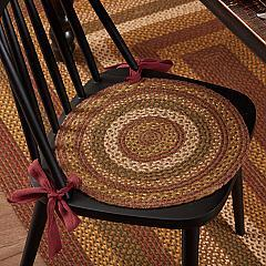 Tea Cabin Jute Chair Pad Set of 6