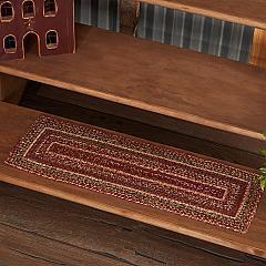 Cider Mill Jute Stair Tread Rect Latex 8.5x27