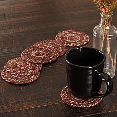 Cider Mill Jute Coaster Set of 6