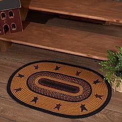 Heritage Farms Star Jute Rug Oval w/ Pad 20x30