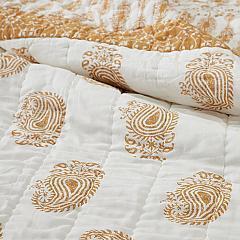Avani Gold Twin Quilt 68Wx86L