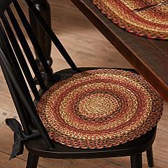 Ginger Spice Jute Chair Pad