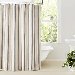 Grace Grain Sack Stripe Shower Curtain 72x72
