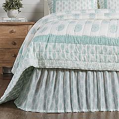 Avani Sea Glass Queen Bed Skirt 60x80x16