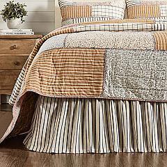 Kaila King Bed Skirt 78x80x16