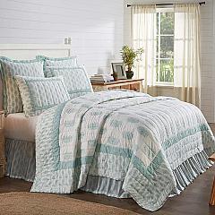 Avani Sea Glass King Quilt 105Wx95L