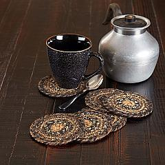 Espresso Jute Coaster Set of 6