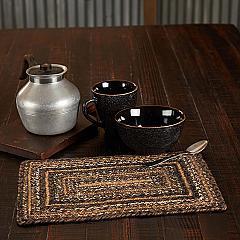 Espresso Jute Rect Placemat 10x15