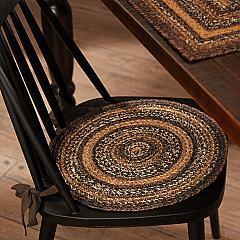 Espresso Jute Chair Pad