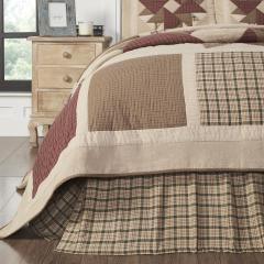Cider Mill King Bed Skirt 78x80x16
