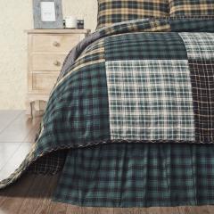 Pine Grove King Bed Skirt 78x80x16