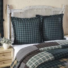 Pine Grove Fabric Euro Sham 26x26