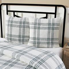 Pine Grove Plaid Fabric Euro Sham 26x26