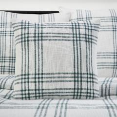 Pine Grove Plaid Fabric Pillow Cover 18x18