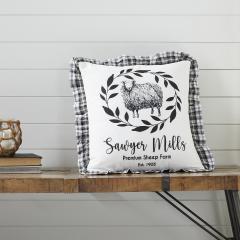 Sawyer Mill Black Sheep Pillow 18x18