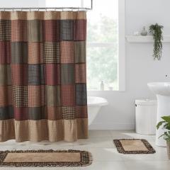 Maisie Patchwork Shower Curtain 72x72