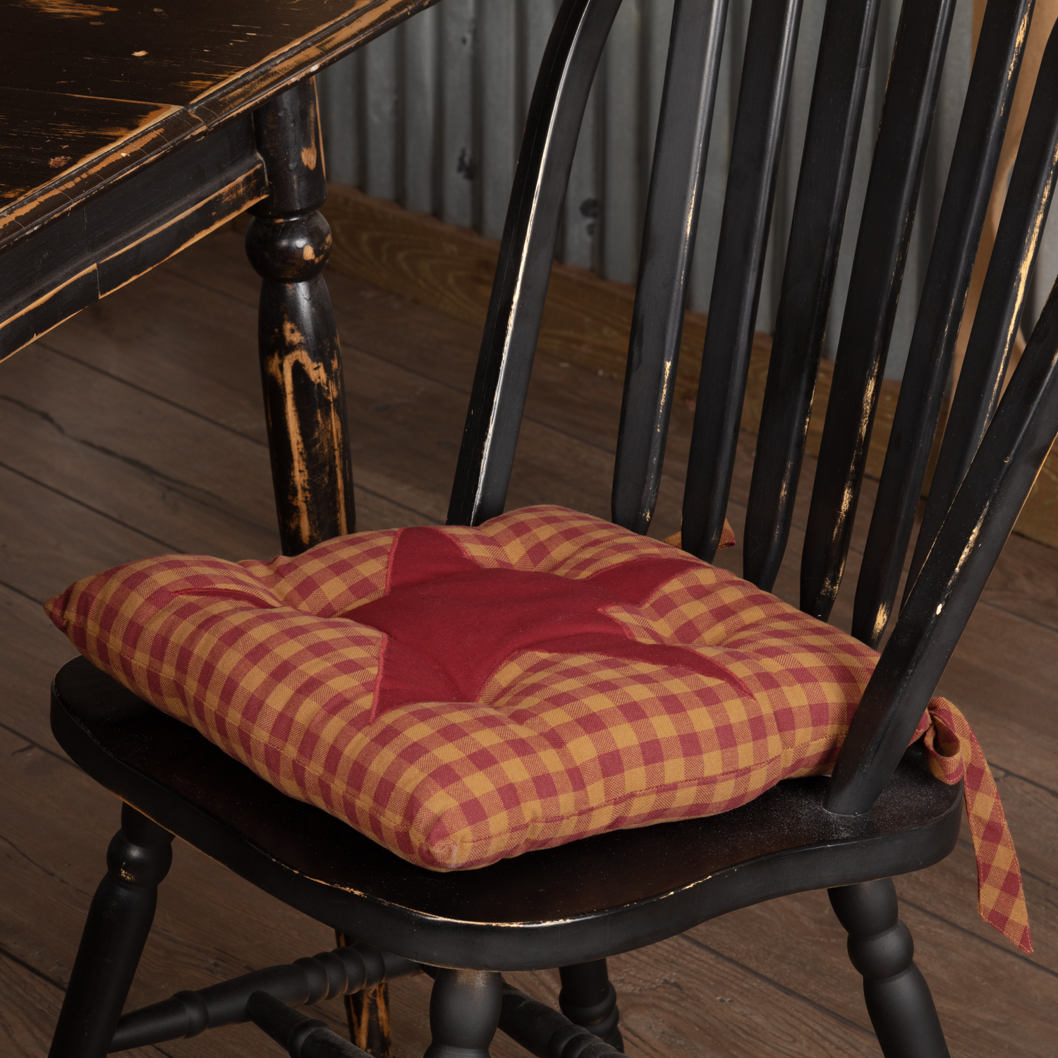 Burgundy-Star-Chair-Pad-image-2