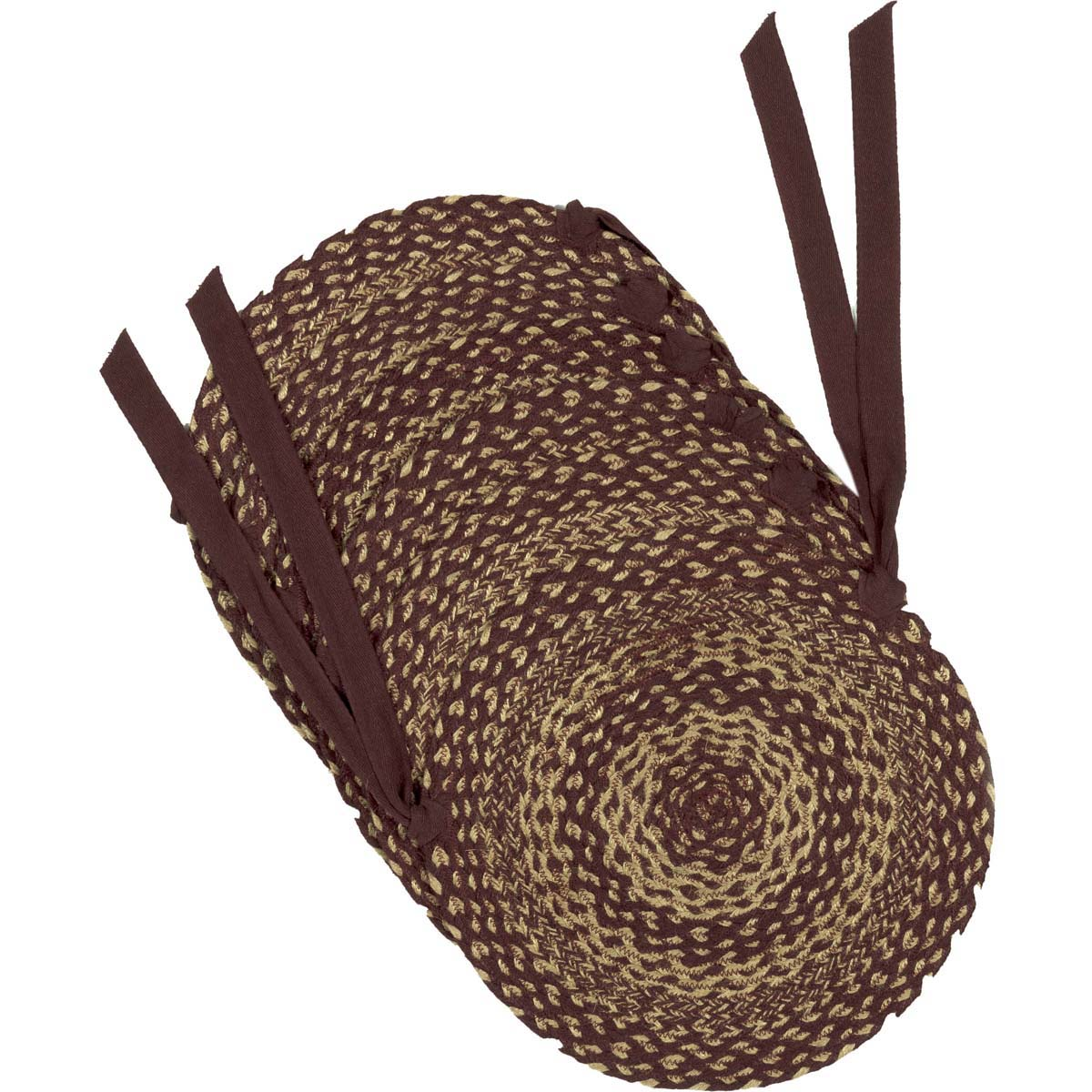 Burgundy-Tan-Jute-Chair-Pad-Set-of-6-image-3
