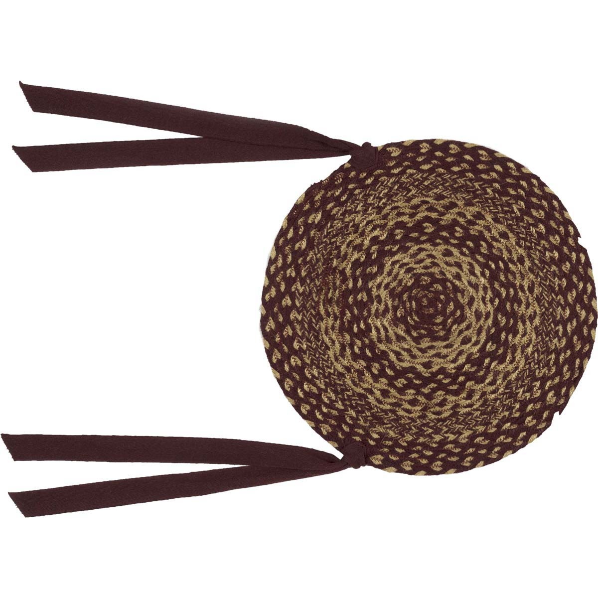Burgundy-Tan-Jute-Chair-Pad-Set-of-6-image-5