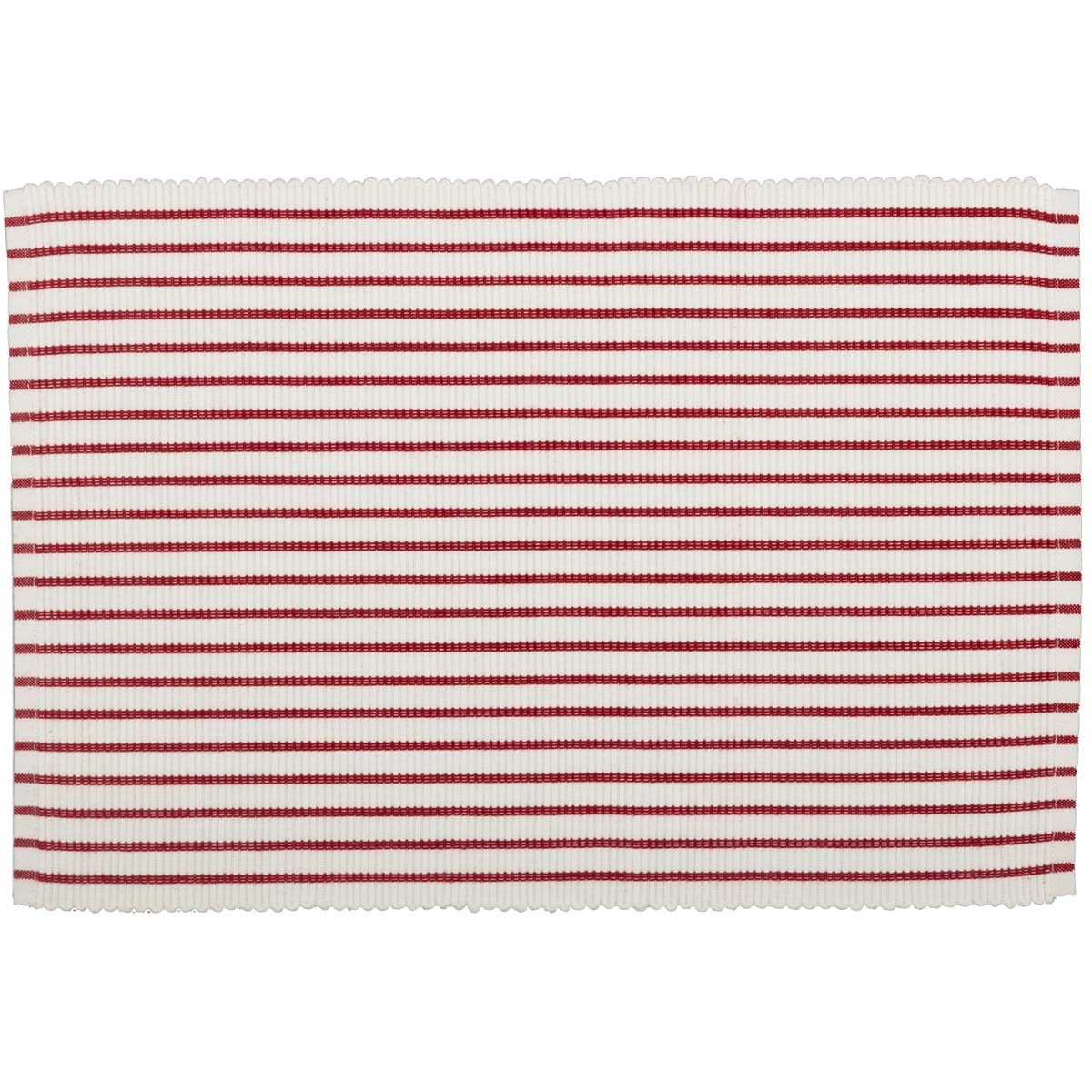 Audrey-Red-Ribbed-Placemat-Set-of-6-12x18-image-3
